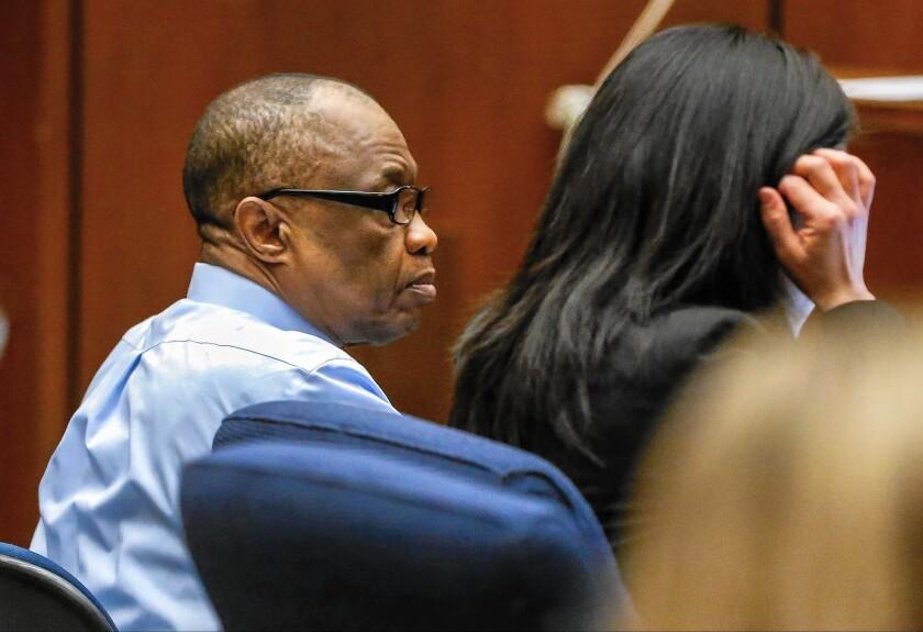 Defense grills L.A. County coroner in Grim Sleeper trial