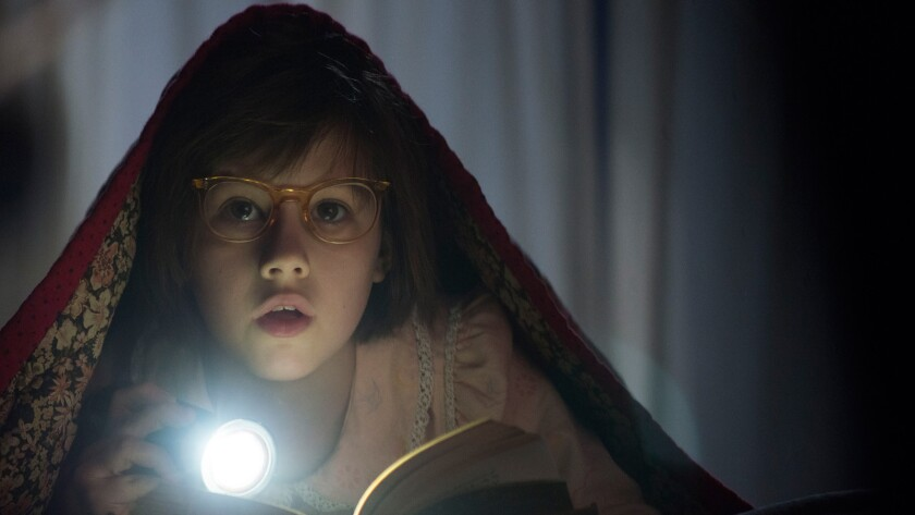"A scene from Steven Spielberg's ""The BFG,"" which is headed to Cannes"