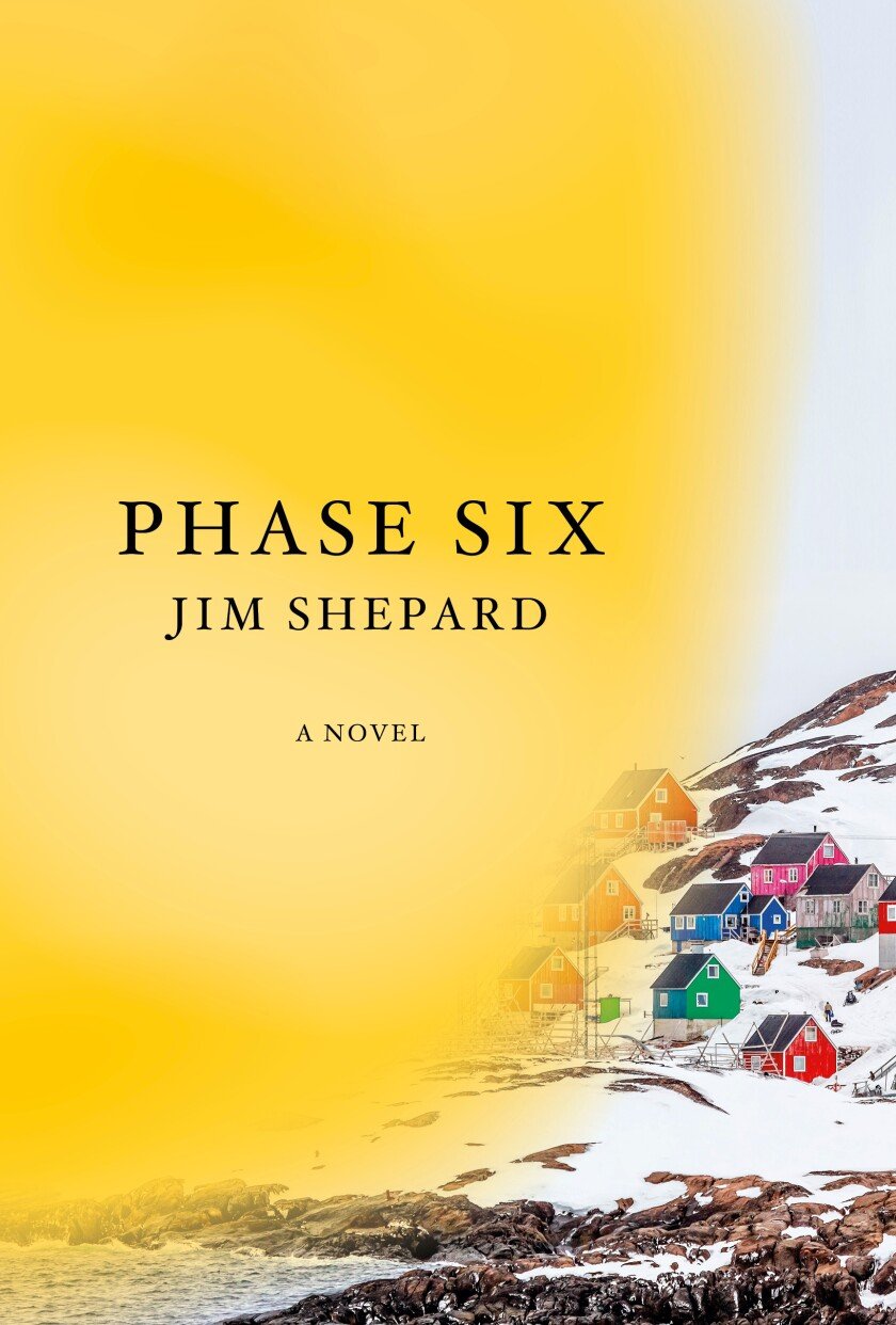 """The cover of the novel """"Phase Six"""" by Jim Shepard"""