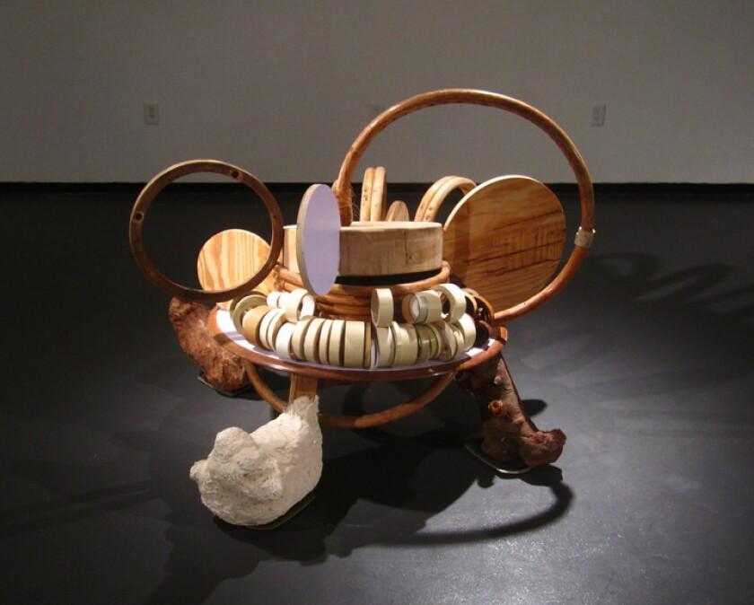 """Coleen Sterritt's """"Ronde de Jambe"""" is included in the exhibition."""