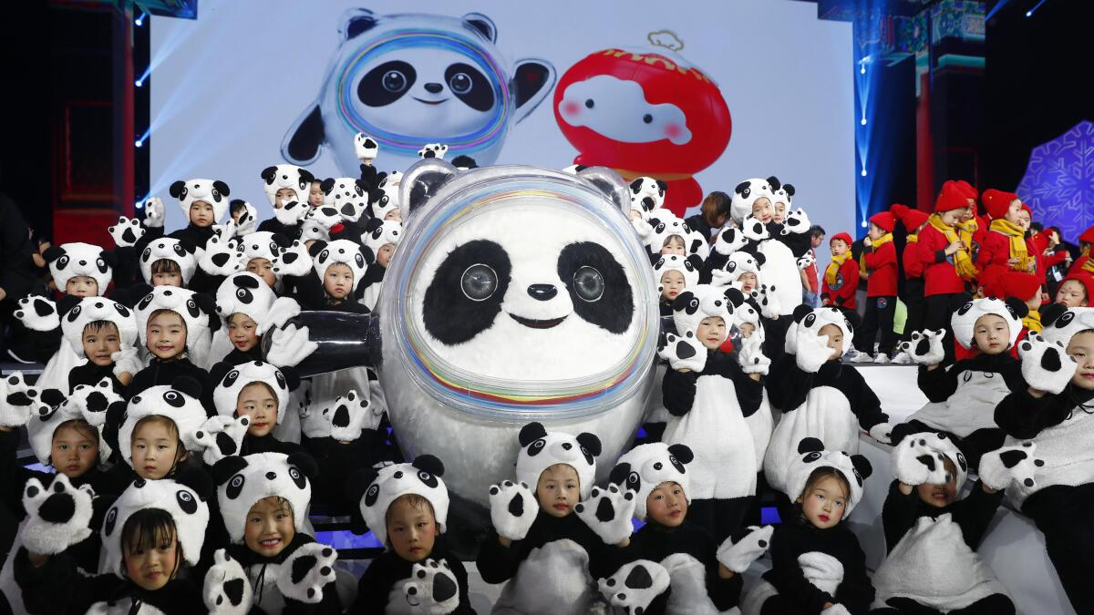 Mascot For 2020 Winter Olympics.Beijing Makes A Predictable Choice For 2022 Olympic Mascot