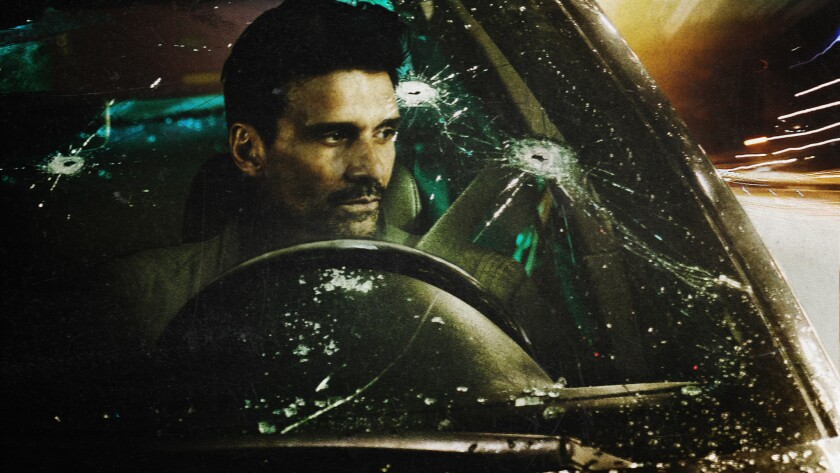 "Frank Grillo in a scene from the Netflix series ""Wheelman."" Credit: Netflix"