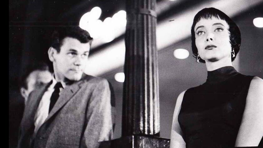 Don Murray and Caroyn Jones in 'The Bachelor Party' from 1957 written by Paddy Chayefsky.