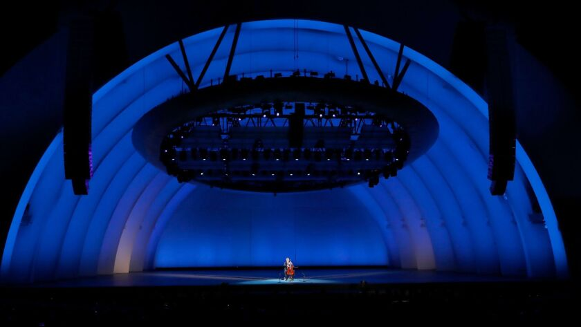 HOLLYWOOD, CALIF. -- TUESDAY, SEPT. 12, 2017: Yo-Yo Ma plays the six Bach cello suites as a sing