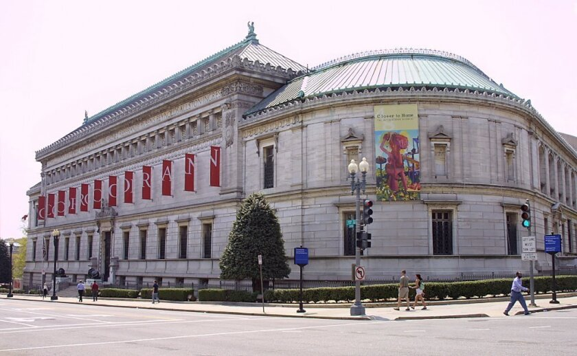 The Corcoran Gallery of Art near the White House in Washington, D.C.