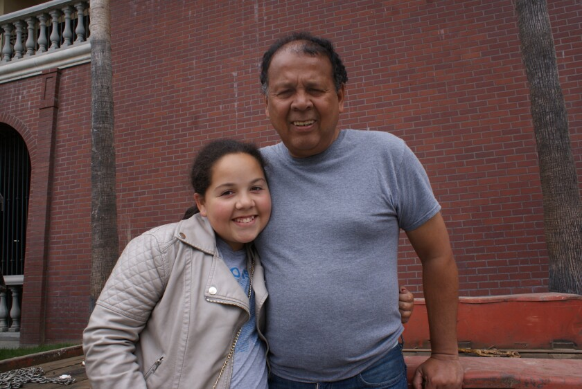 Álex González, originario de Colombia, obtuvo en mayo pasado la custodia de su hija Stephanie González Angarita, de 14 años de edad.