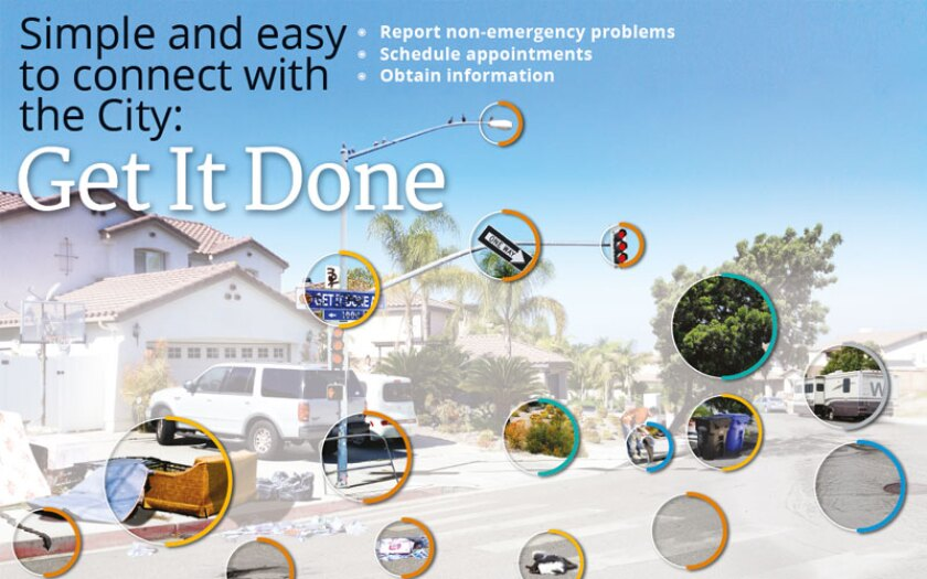 San Diego's Get it Done smartphone app is an example of city technology
