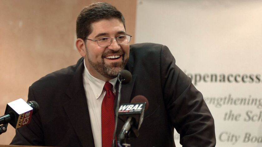 Andrés Alonso announced Thursday that he'd prefer to be a candidate for a job other than the one leading L.A. schools.