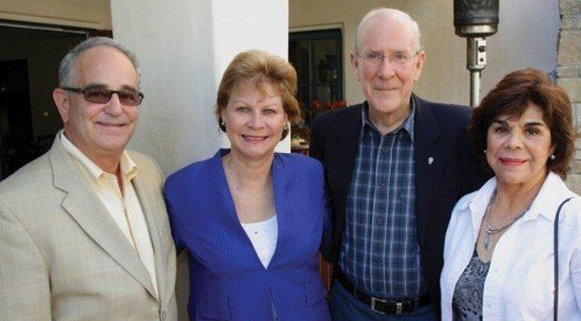 Glen and Linda Freiberg, Phil and Irma Tarr (Photo: Jon Clark)