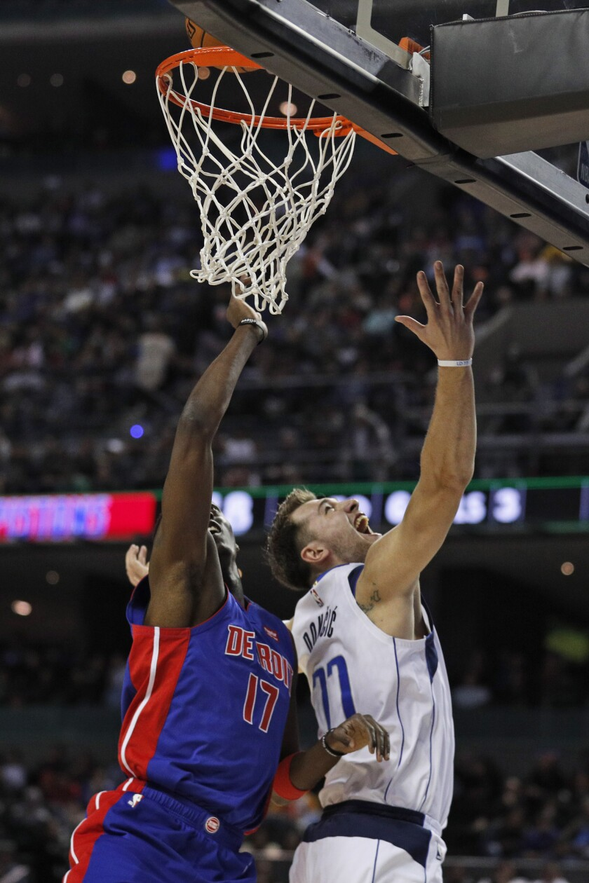 Mexico Pistons Mavericks Basketball