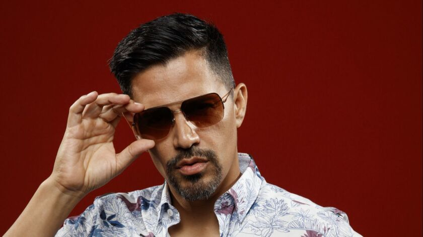 "SAN DIEGO, CALIF. -- JULY 19, 2018-- Jay Hernandez from the television series ""Magnum P.I.,"" photog"