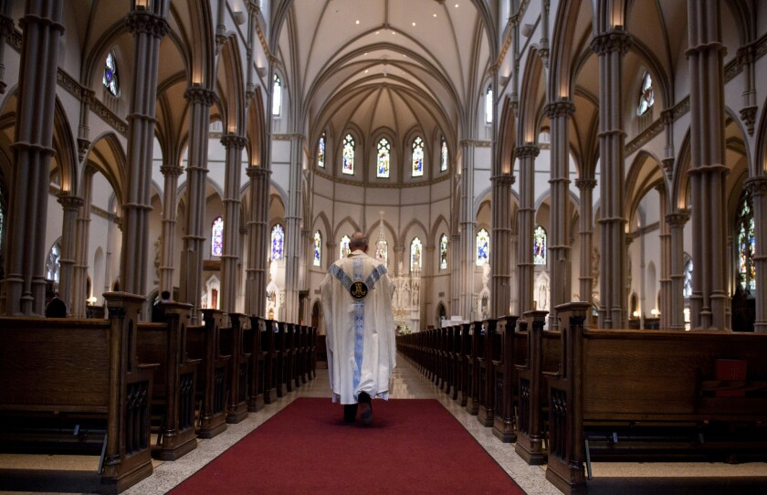 The Pennsylvania Grand Jury's report, released in August, accused the Roman Catholic Church of covering up decades of sexual abuse.