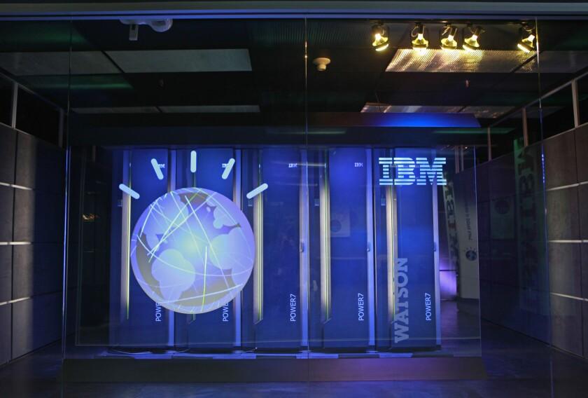 An IBM Watson supercomputer.