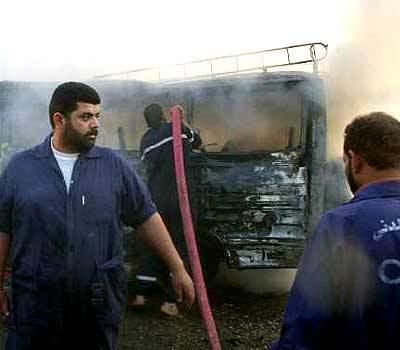 Basra Blasts Kill Scores