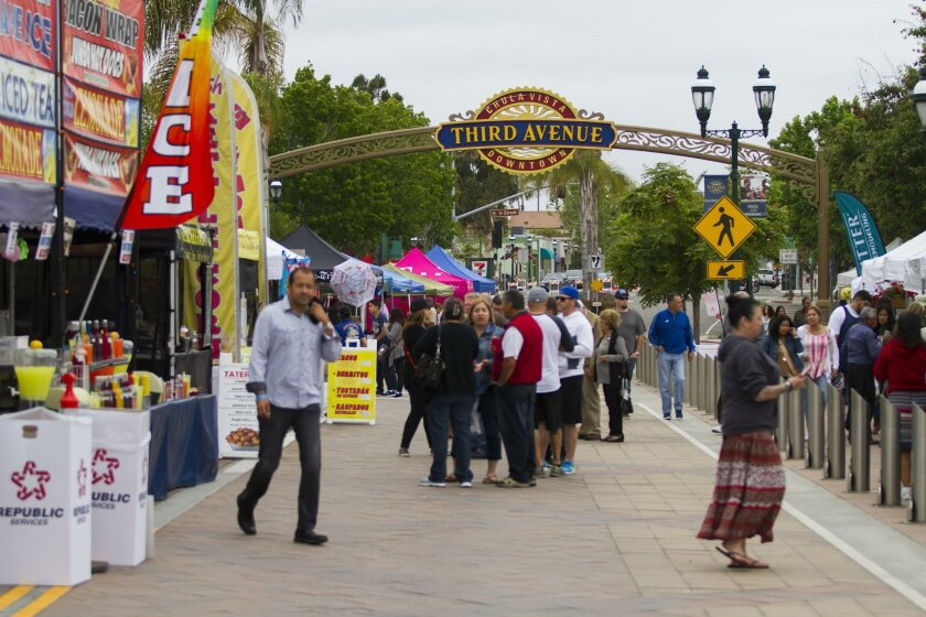 The first Amps and Ales craft beer and music festival was held Saturday on Third Avenue in Chula Vista.