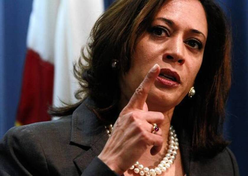 California Atty. Gen. Kamala D. Harris is urging state lawmakers to back a plan for funding the CURES database to identify reckless prescribers of addictive drugs.