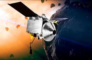 La nave espacial caza asteroides de la NASA vuela más allá de la Tierra camino a la misión