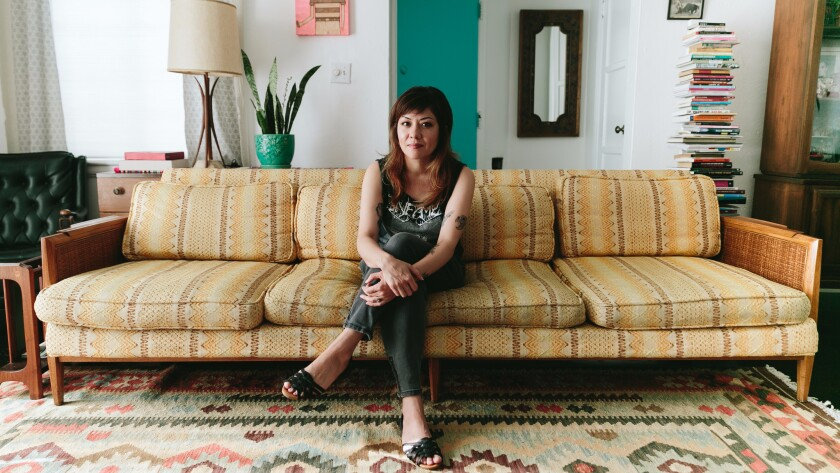 """""""Being an artist means you are always working,"""" says Los Angeles artist Shizu Saldamano."""