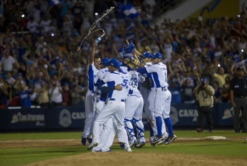 En la imagen, un registro de otra actuación de la selección de béisbol de Nicaragua. EFE/Archivo