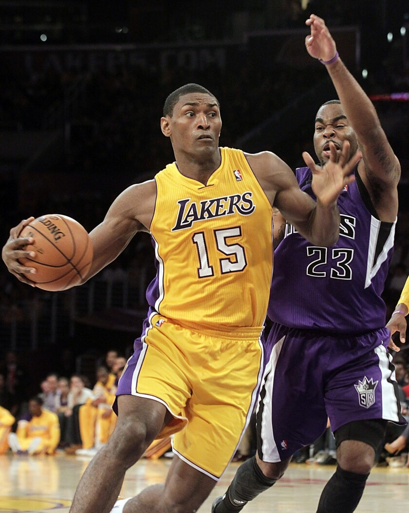 Are the Lakers planning to part ways with Metta World Peace?