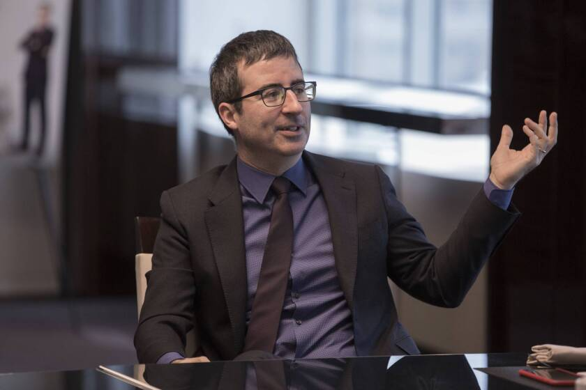 """Comedian John Oliver discusses Season 2 of his HBO show """"Last Week Tonight."""""""