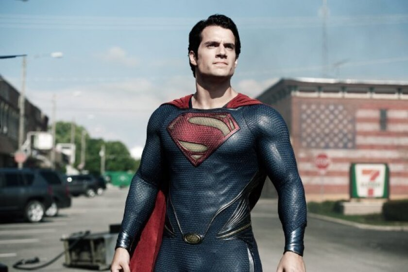 """Henry Cavill stars in """"Man of Steel,"""" which is poised to have a huge opening this weekend."""
