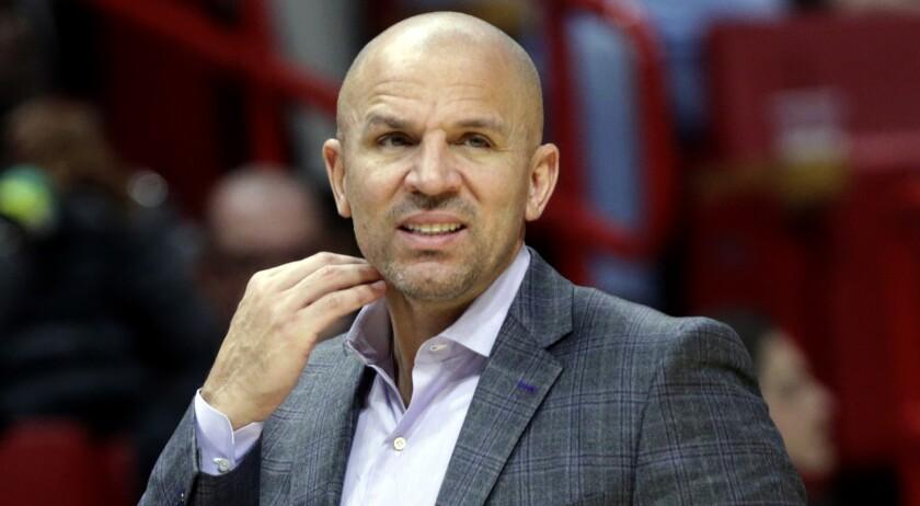 Jason Kidd, a native of Oakland, has spent five seasons as a head coach in the NBA.