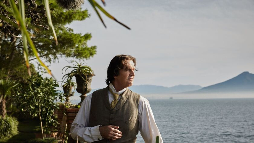 "Rupert Everett as Oscar Wilde in a scene from the movie ""The Happy Prince."" Credit: Wilhelm Moser/So"