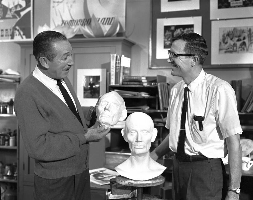 Disney sculptor Blaine Gibson dies at 97