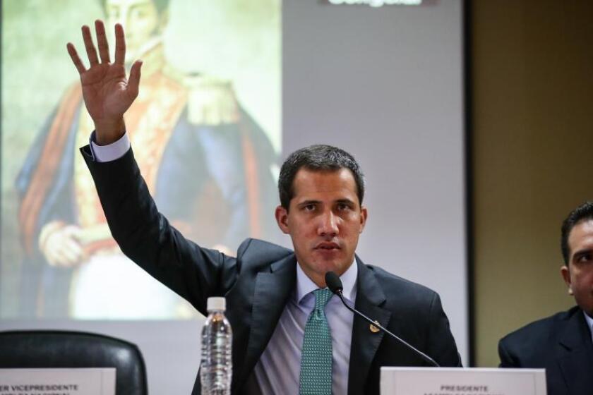 Guaidó hablará en foro paralelo a Asamblea de ONU a la que asistirá Maduro