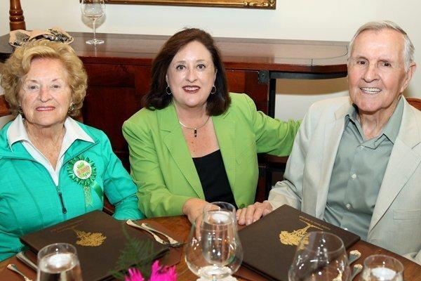 Ruth, Judy, and Bob Mangrum