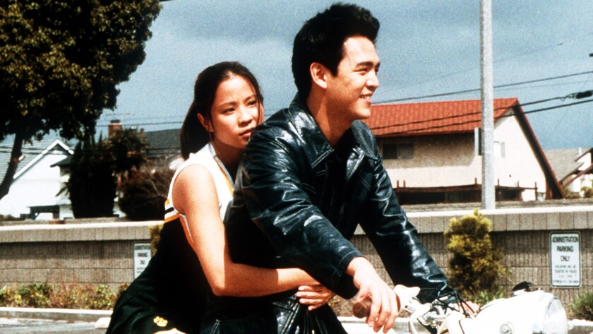 """Karin Anna Cheung and John Cho as Steve in Justin Lin's movie """"Better Luck Tomorrow."""""""