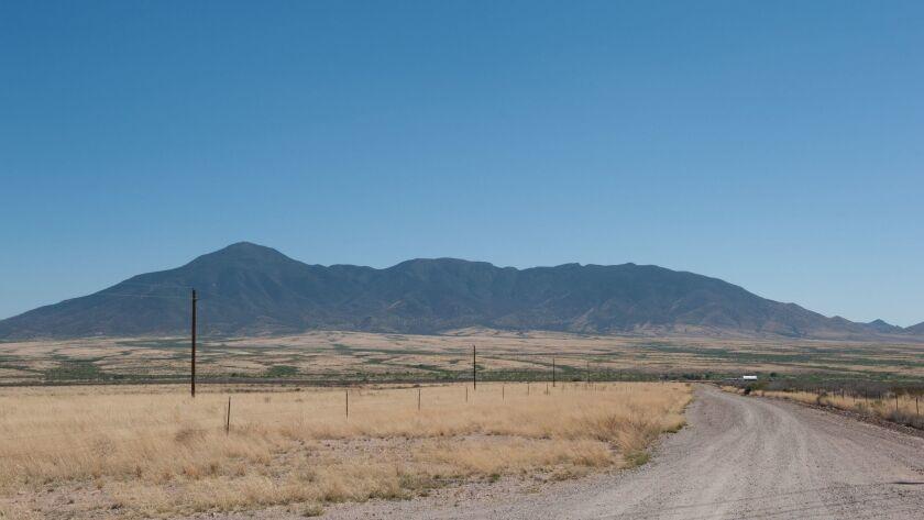 The U.S.-Mexico border in Arizona in 2014.