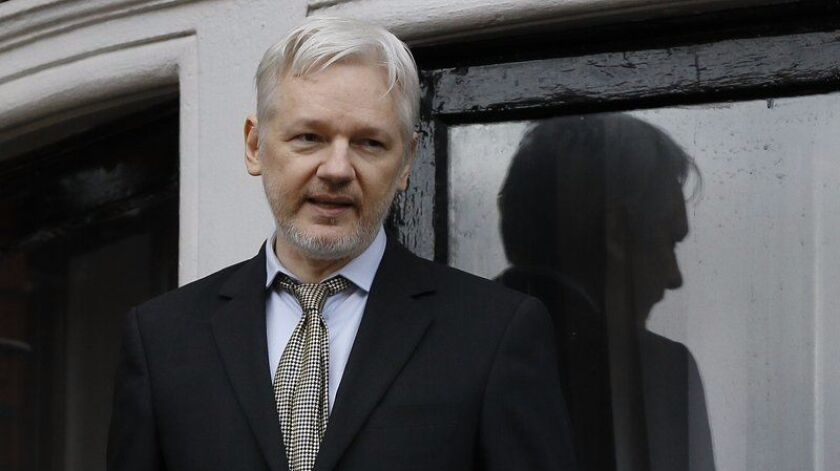 WikiLeaks founder Julian Assange, shown in a file photo, faces extradition hearings.