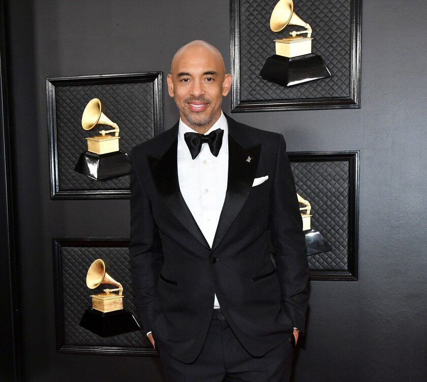 Harvey Mason Jr. is the interim CEO and president of the Recording Academy