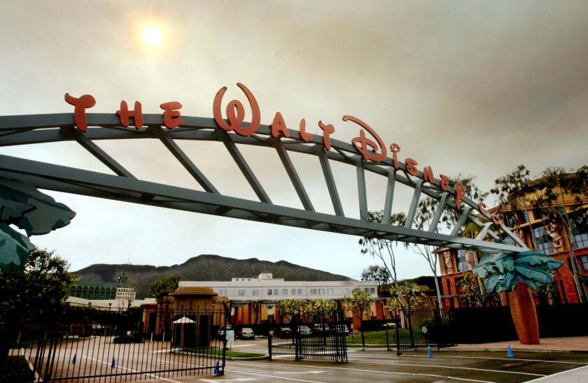 Disney's corporate headquarters in Burbank.
