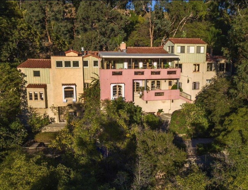 Paul Simon and Sheryl Longin's Spanish home