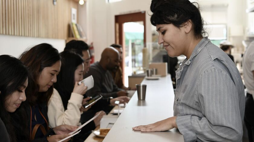 LOS ANGELES, CA-January 18,2019: Nestled in 500 square feet and only counter seating, the newly open