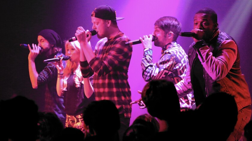 Pentatonix has the pipes, but pop stardom is tricky