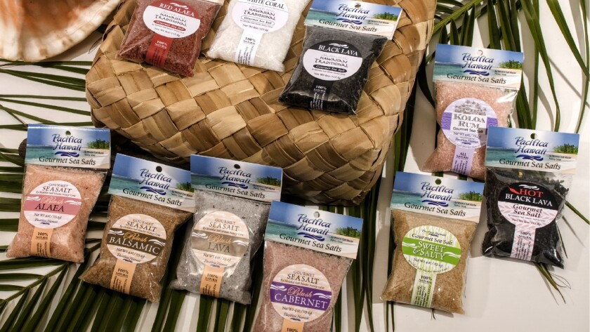 Pacifica Hawaii Salt puts a modern spin on an ancient tradition by adding various spices and flavors to its sea salts.