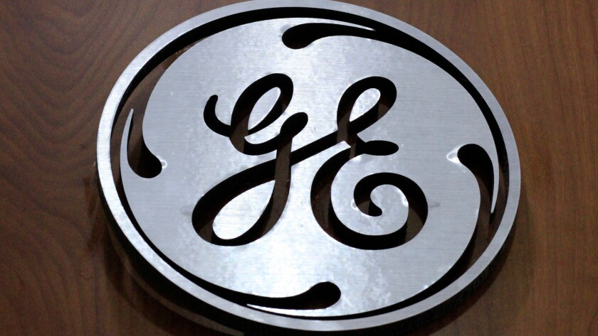 The General Electric Co. logo