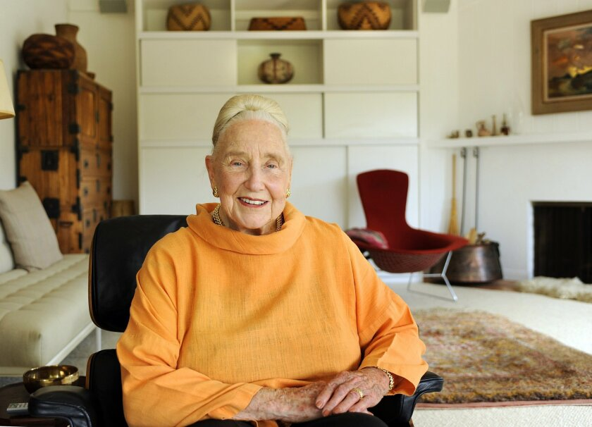 Martha Longenecker, founder and former director of the Mingei International Museum in Balboa Park, passed away Tuesday. She was 93.