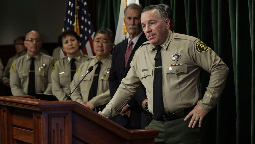 Editorial: Sheriff Villanueva's vision for LASD is as