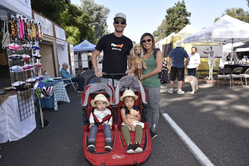 The Ross family at the 2019 Oktoberfest.