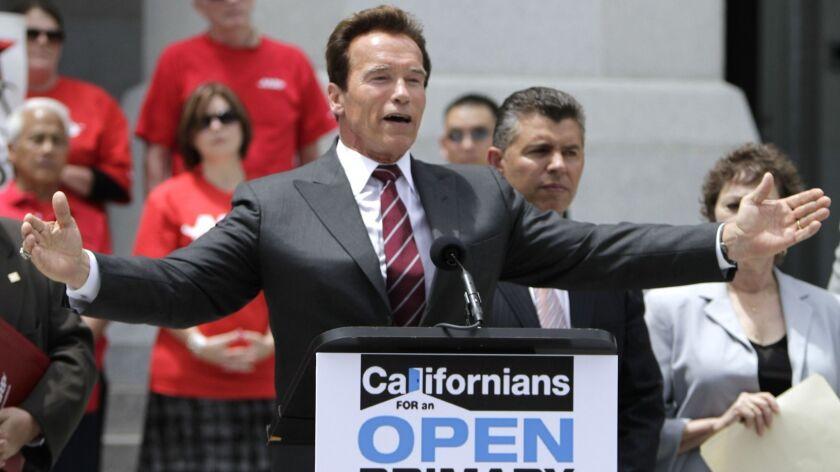Arnold Schwarzenegger, Abel Maldonado