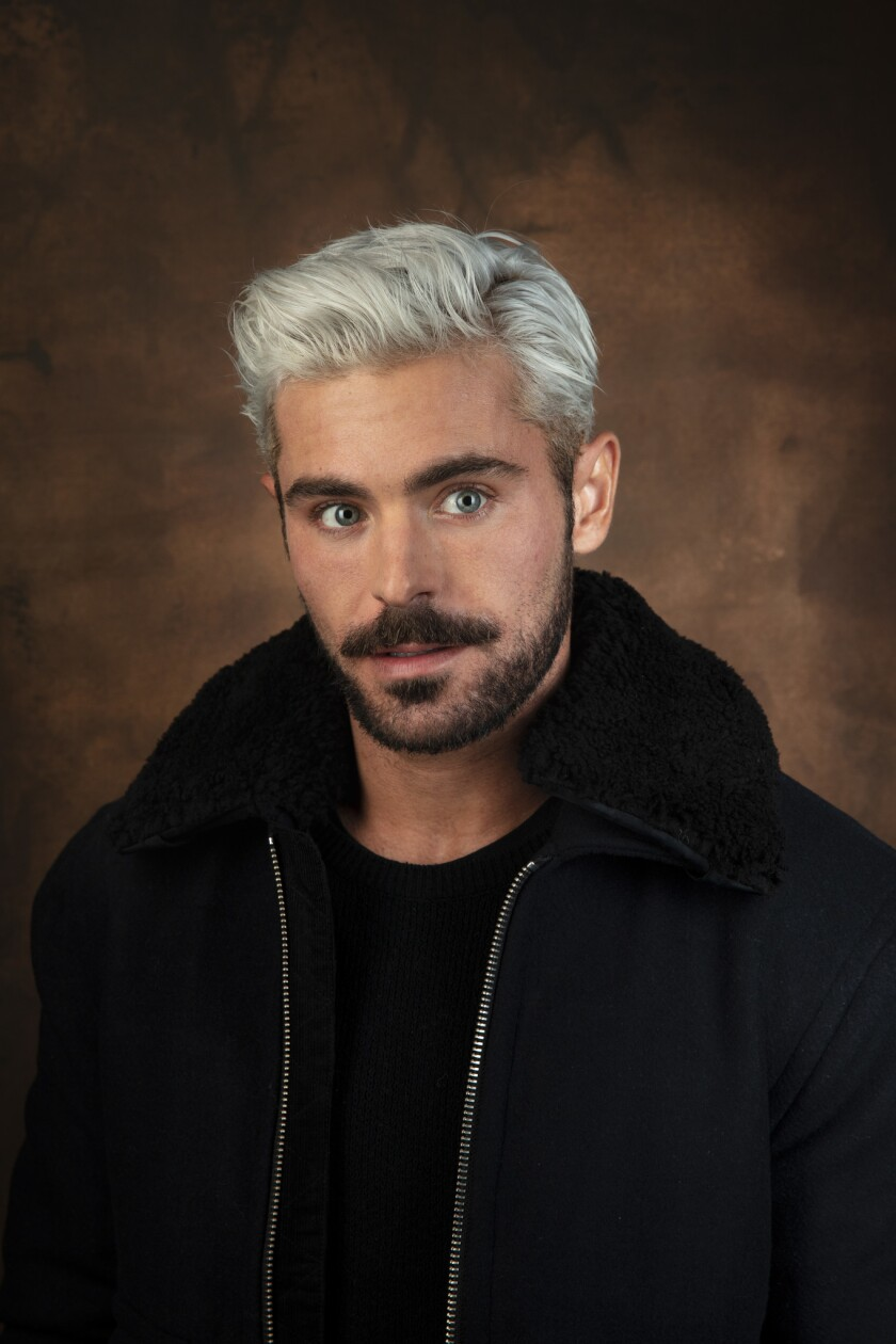 "PARK CITY, UTAH -- JANUARY 26, 2019 -- Actor Zac Efron, from the film, ""Extremely Wicked, Shockingly"