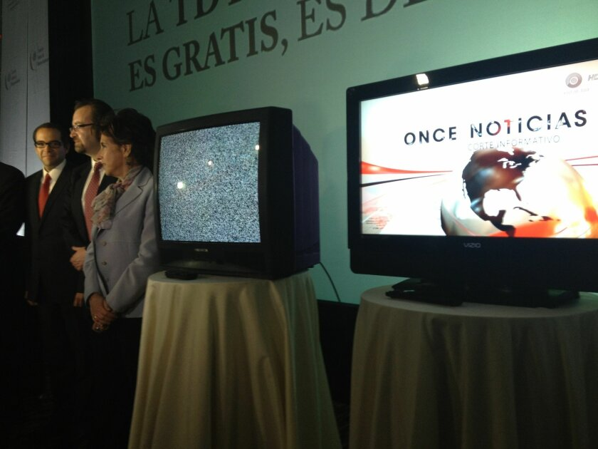 Tijuana's switch to digital television was celebrated Tuesday--but two days later Mexico's federal government asked for a return to analog broadcasts through Baja California's July 7 elections.