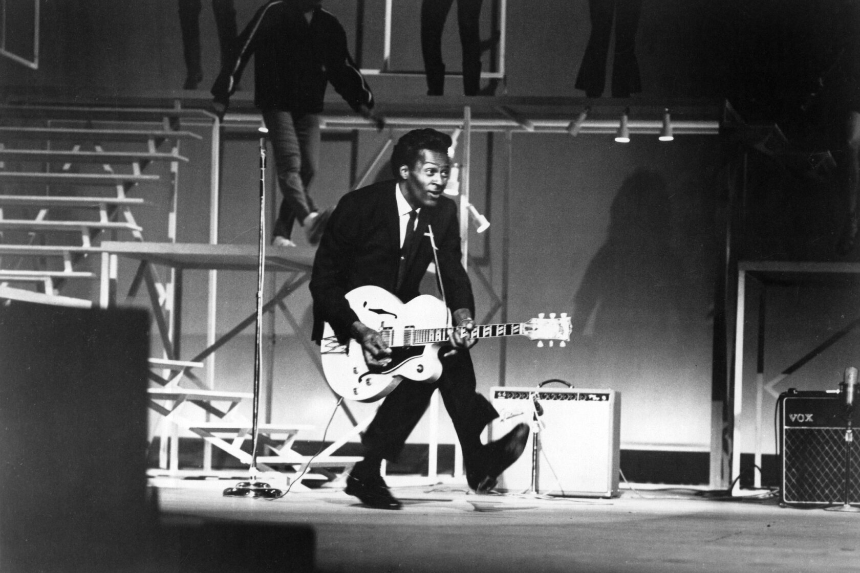 Chuck Berry talks music, race and his 'difficult' reputation - Los