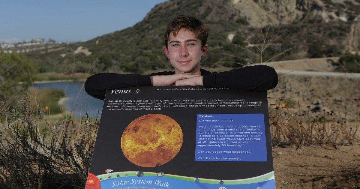 A stroll through the solar system - The San Diego Union-Tribune