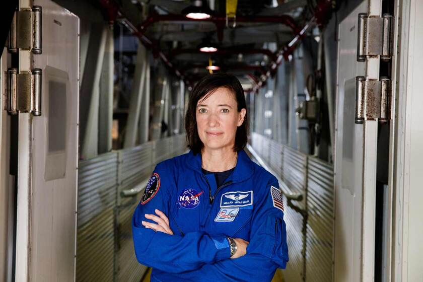 Megan McArthur will conduct research in medical technology and human health on the International Space Station.